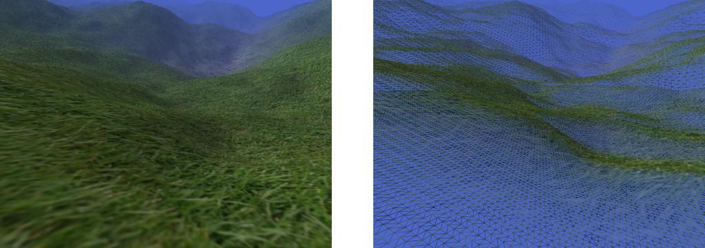 Geometrie Clipmap Beispielbild