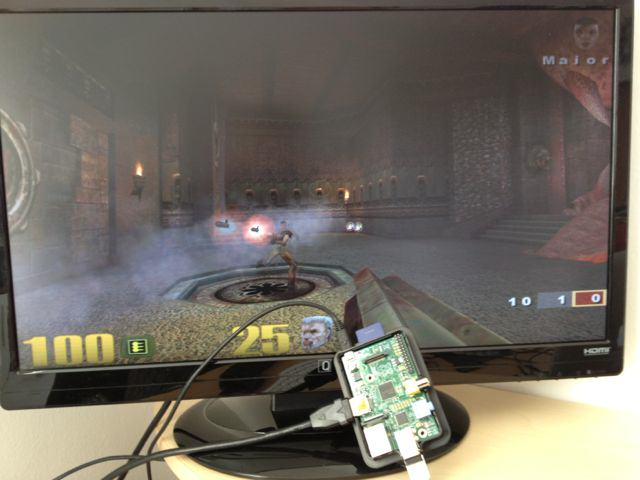 Shooter am Raspberry Pi