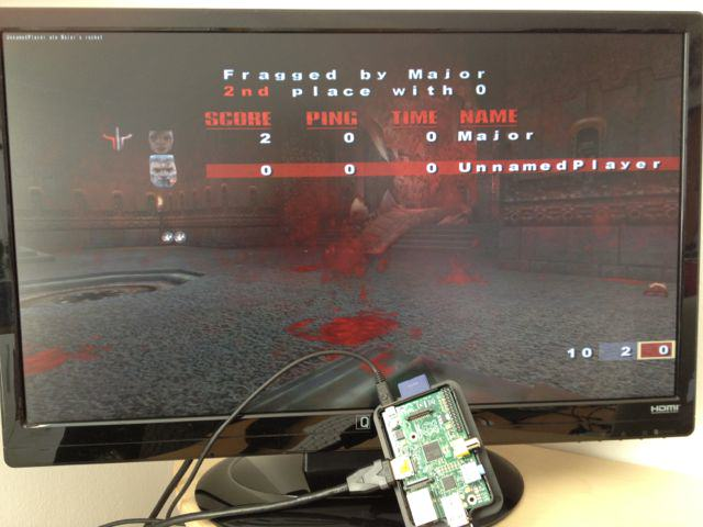 Quake3 am Raspberry Pi