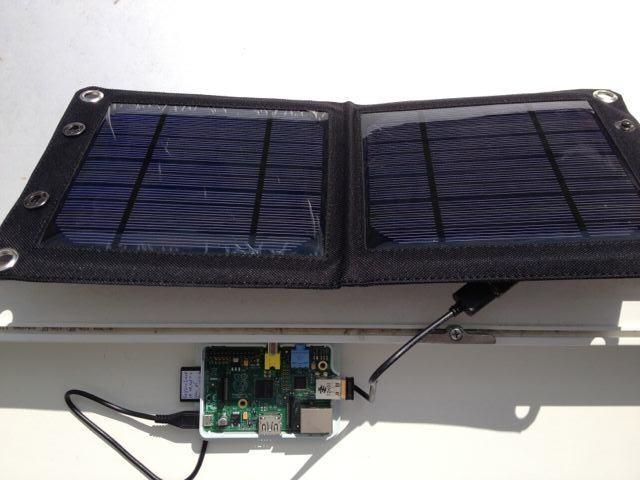 Raspberry Pi Solar Panel