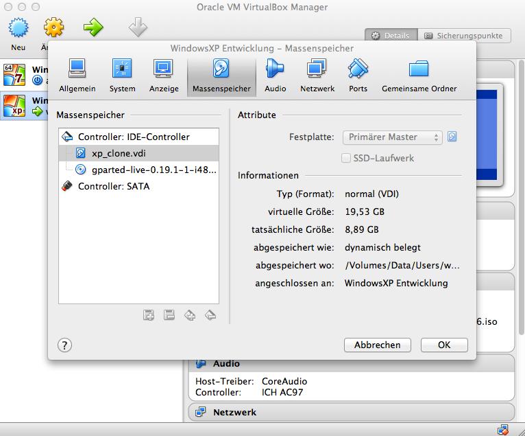 virtualbox-festplatte