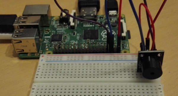 Raspberry Pi aktiver Buzzer