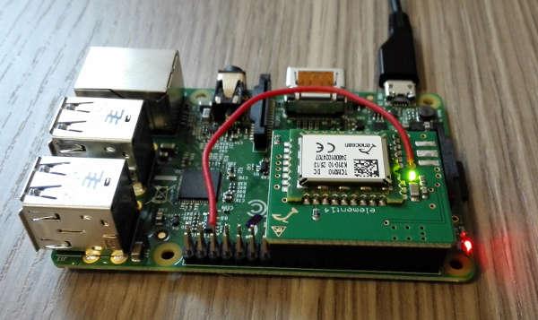 Raspberry Pi B+ Enocean