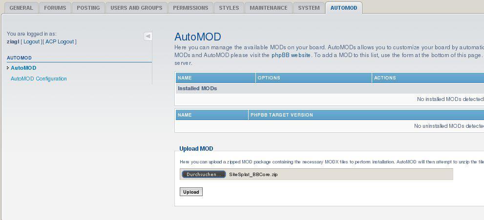 phpbb Automod