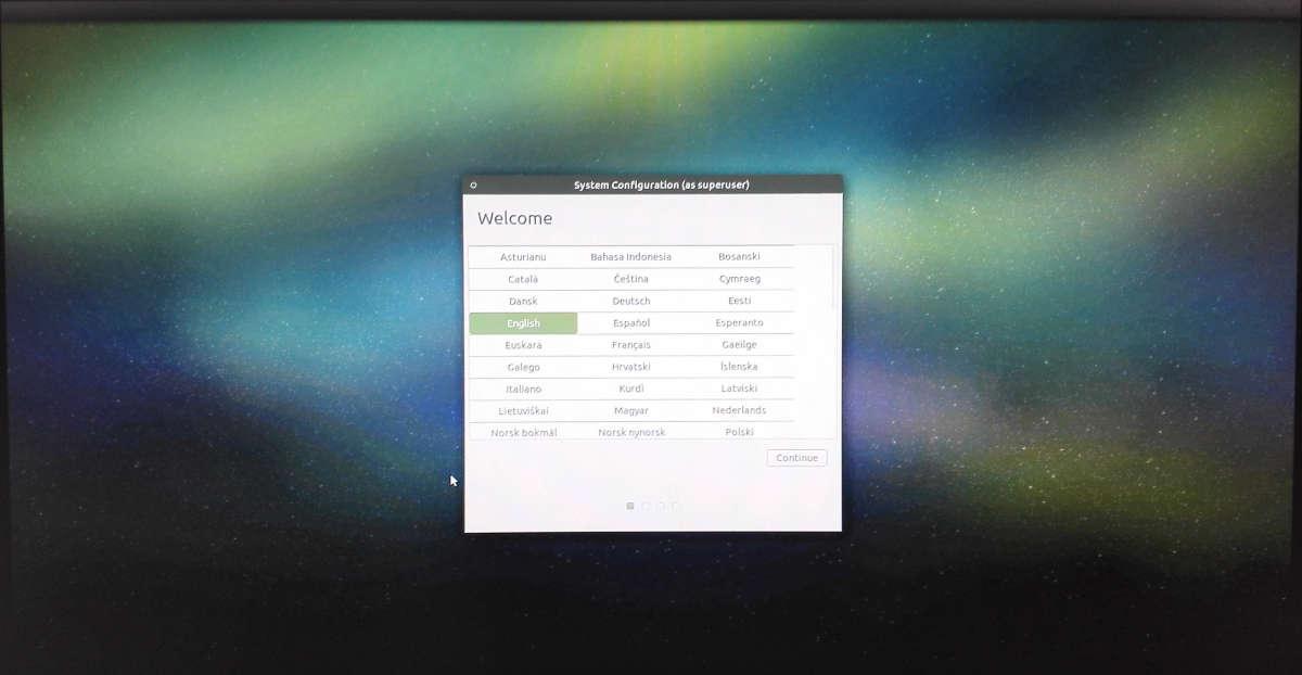Ubuntu Mate einrichten Sprache