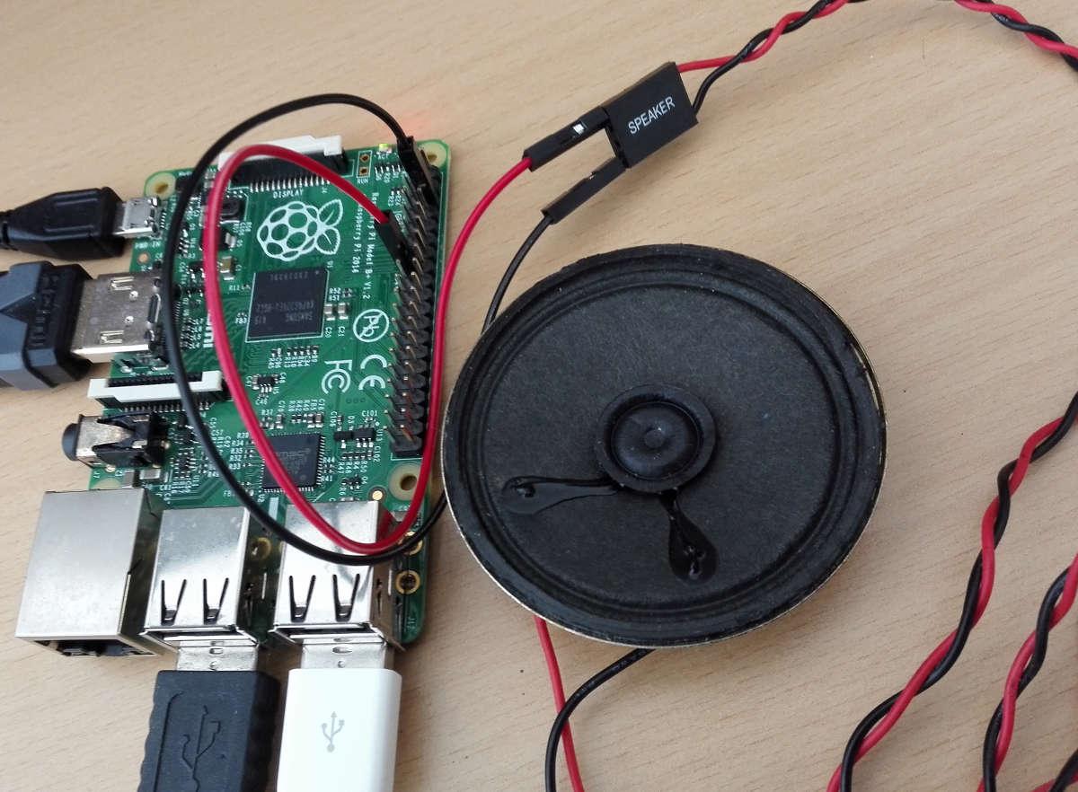 Raspberry pi pc lautsprecher developer