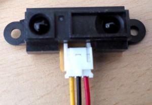 Infrarot Entfernungsmesser Funktionsweise : Infrarot sensor sharp 2y0a21 developer blog