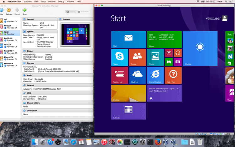 Virtualbox Windows 8.1