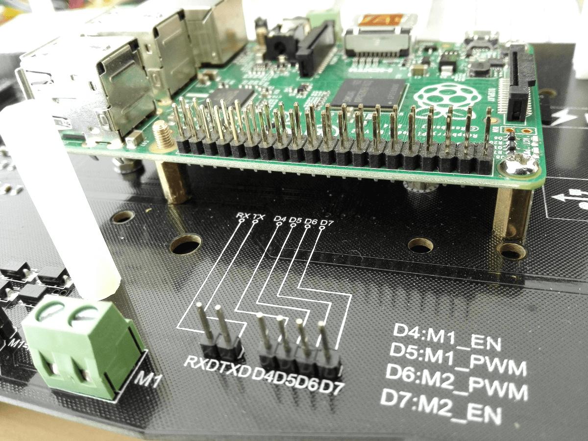 Cherokey Mobile Robot Raspberry Pi