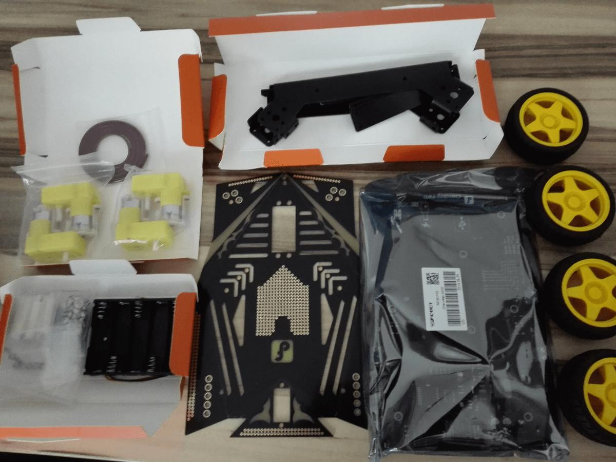 Raspberry Pi Roboter Einkaufsliste