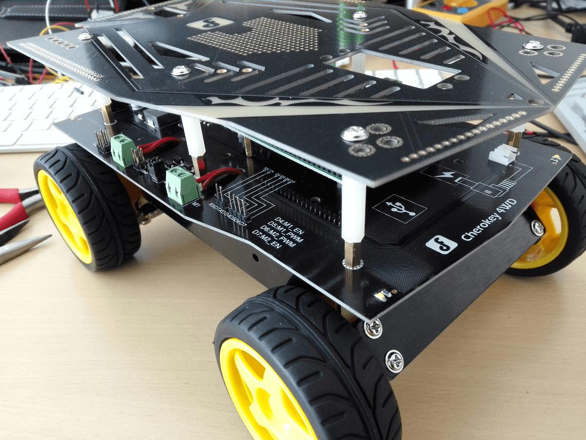 Roboter bewegen für Anfänger
