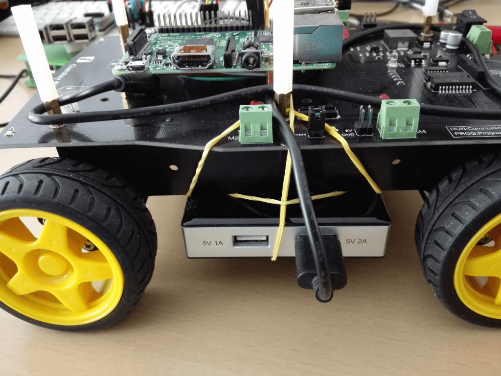 Roboter Powerbank