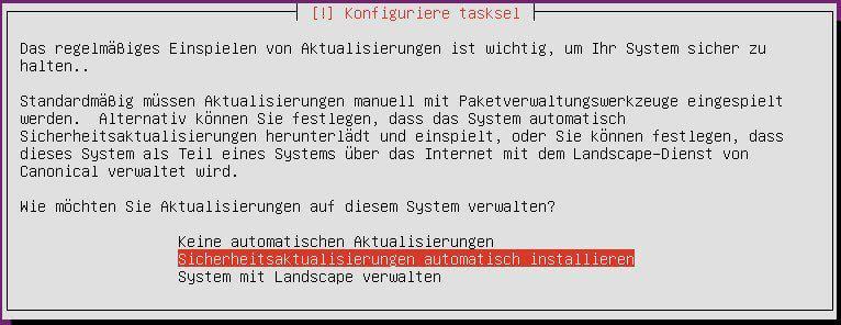Ubuntu automatische Updates