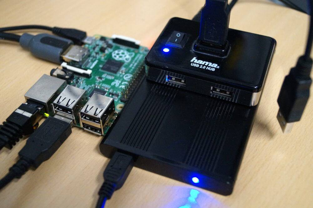 Raspberry Pi Festplatte einrichten