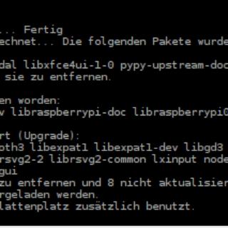 NAS Basiskonfiguration apt-get upgrade