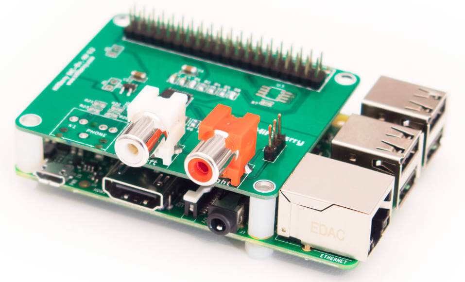 Raspberry Pi Hifiberry