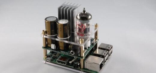 Raspberry Pi HTA Röhrenverstärker