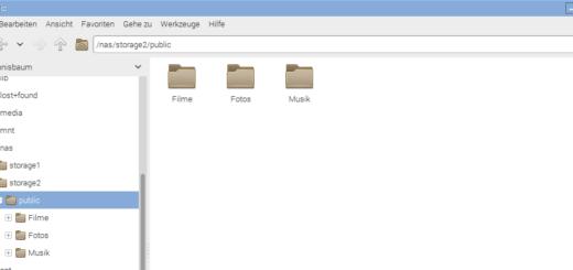 Raspberry Pi NAS Benutzerverwaltung Titel