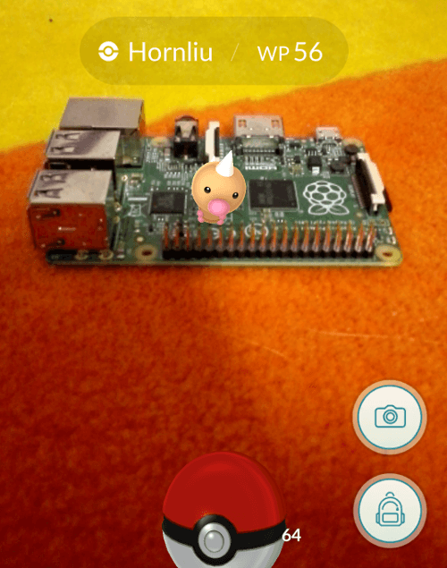 Pokémon Raspberry Pi