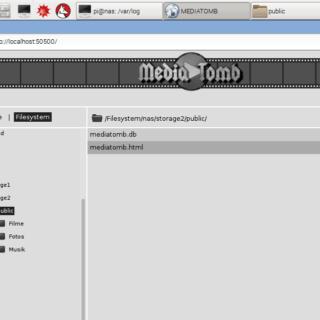 Raspberry Pi NAS Medien Server einrichten Mediatomb
