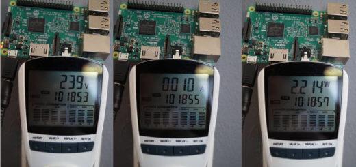 Raspberry Pi 3 Stromverbrauch