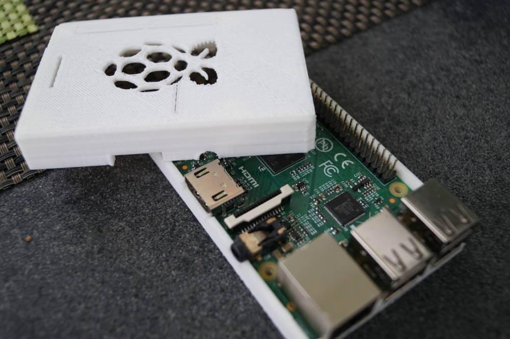 Raspberry Pi Gehäuse aus dem 3D Drucker - Developer-Blog