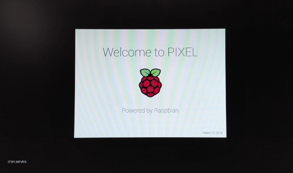 Raspberry Pi Pixel boot