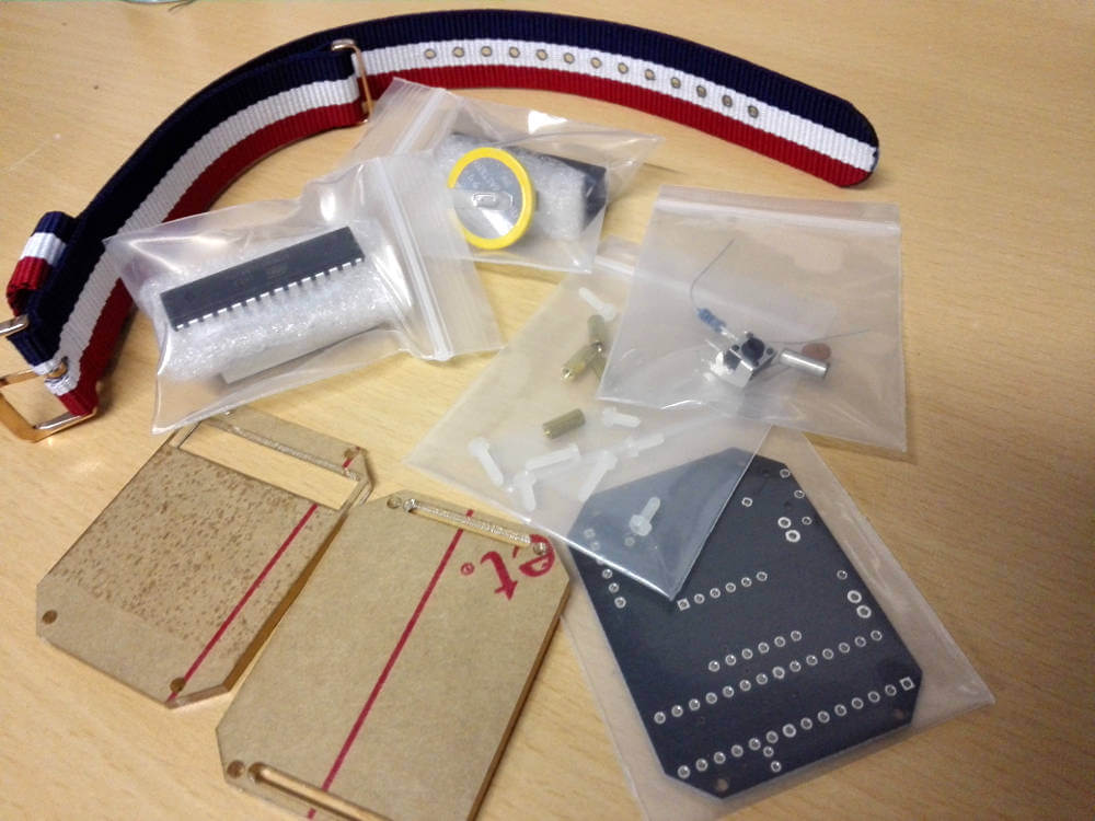 DIY Smart Watch Material