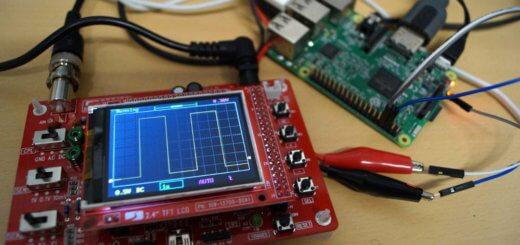 Raspberry Pi Oszilloskop in der Praxis