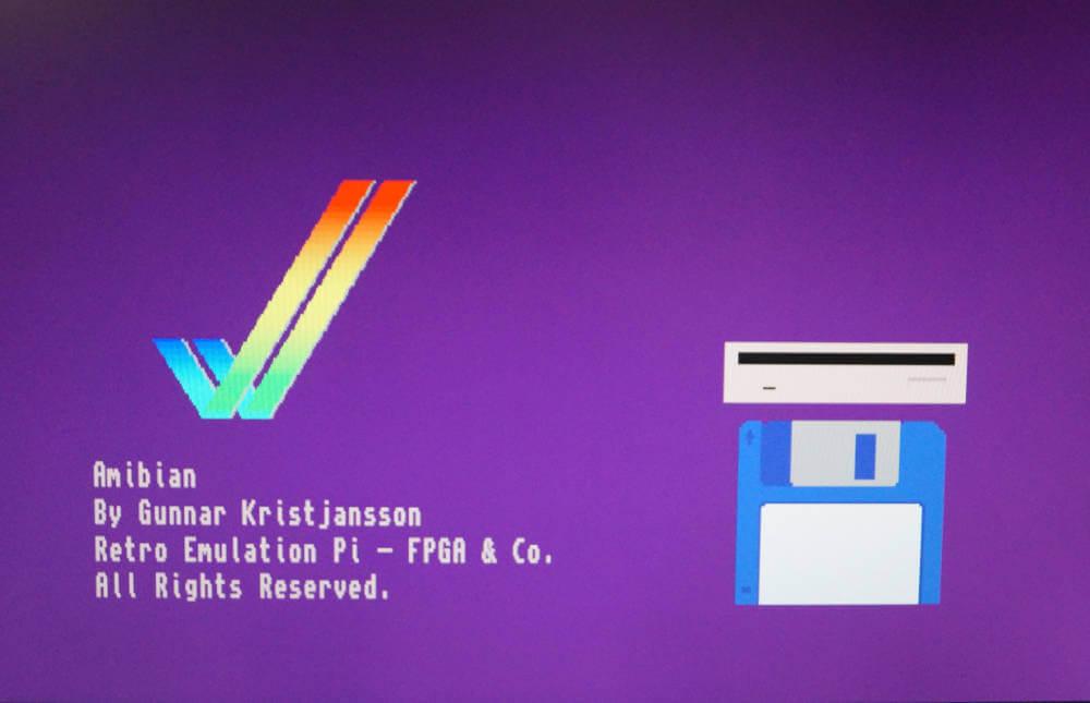Raspberry Pi Amiga Emulator