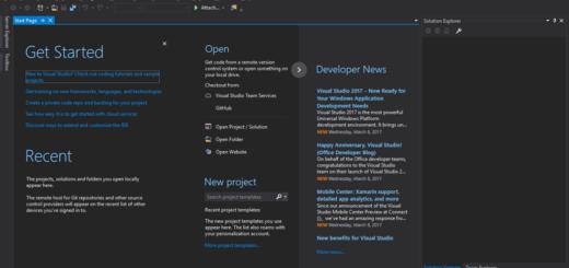 Visual Studio Pro 2017