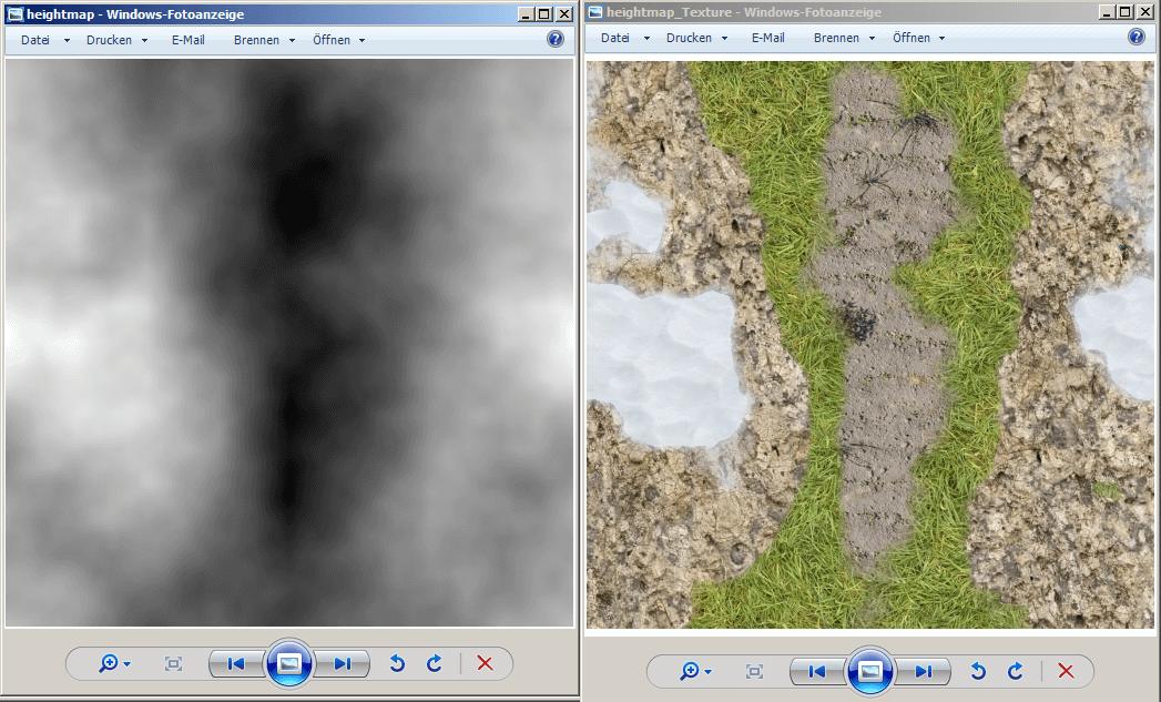 Heightmap Textur