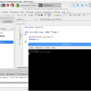 Raspberry Pi C++ Entwicklungsumgebung