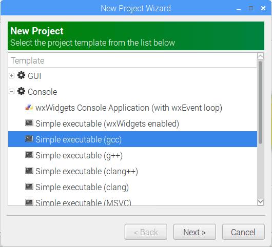Sample GCC Project