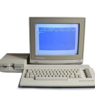 Textadventure Spiele für den Commodore 64 wiederentdeckt