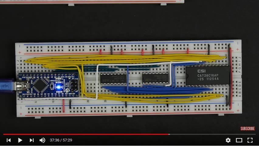 Arduino EEPROM programmer