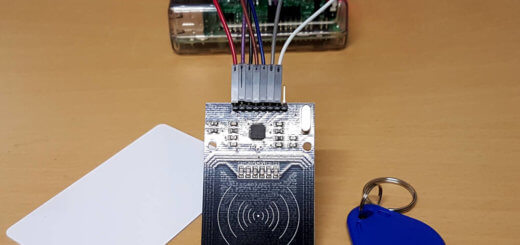 Raspberry Pi NFC und RFID auslesen