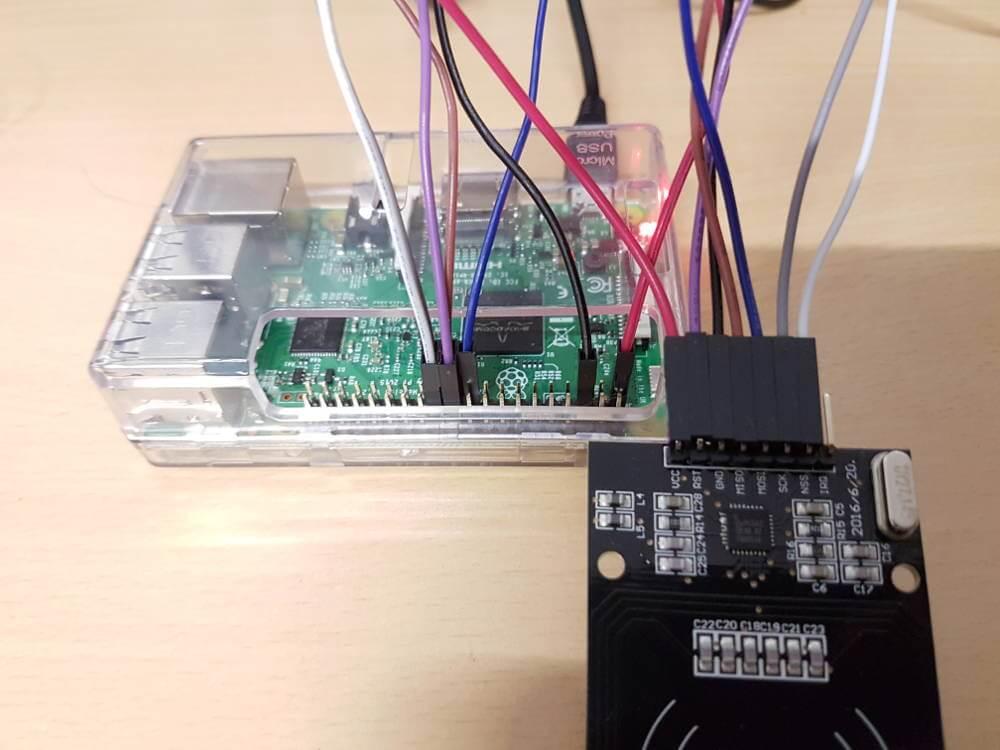 RFID Pinbelegung Raspberry Pi