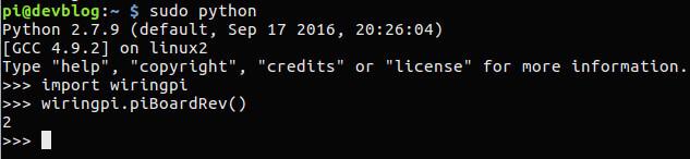 Wiringpi Python Installieren