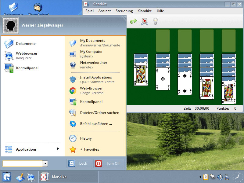 Windows XP Design Linux