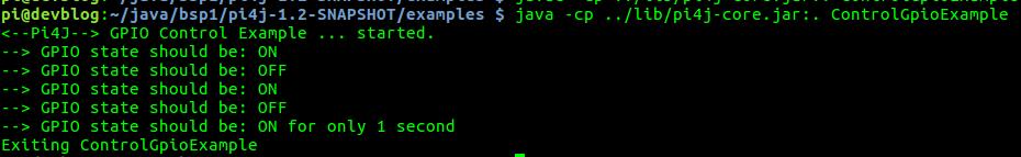 pi4j GPIO unter Java steuern