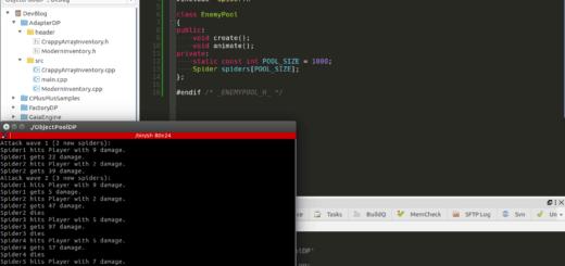 Object Pool Design Pattern in C++