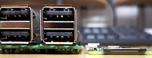 Raspberry Pi 3 Pi Zero W Vergleich Höhe