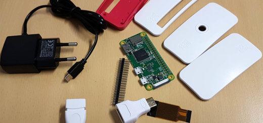 Raspberry Pi Zero W Test