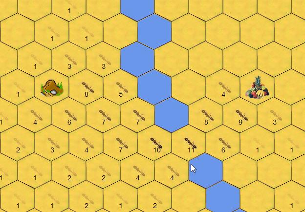Ameisen Pfadplanung