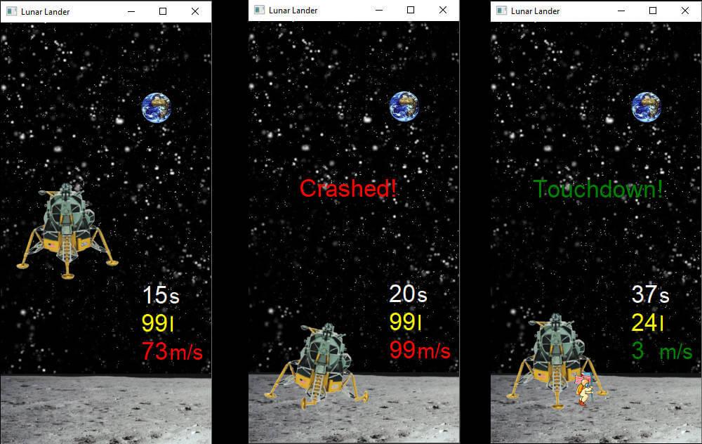 Lunar Lander in C++