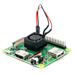 Raspberry Pi 3 Modell A+ Test CPU