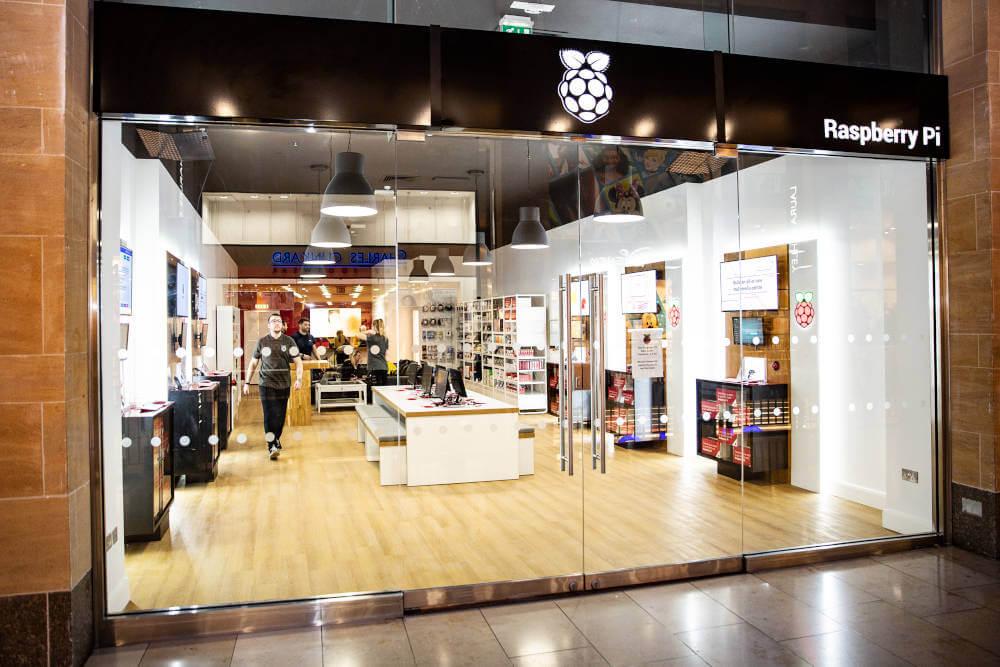 erster physischer Raspberry Pi Store eröffnet