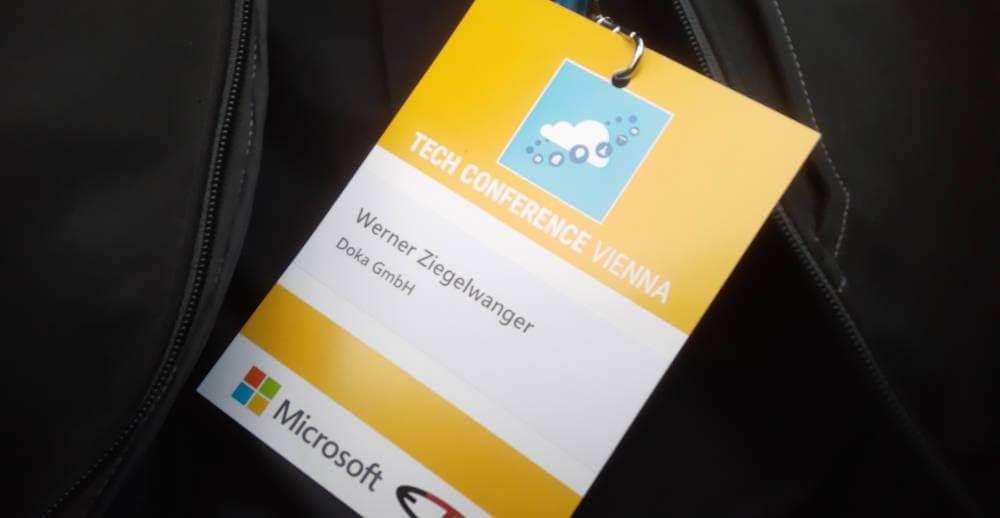Microsoft Tech Conference Vienna