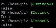 Power Shell Betriebssystem abfragen